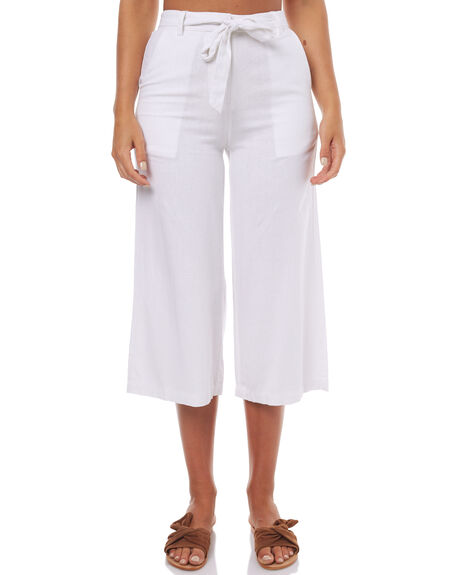 WHITE OUTLET WOMENS SWELL PANTS - S8171194WHT