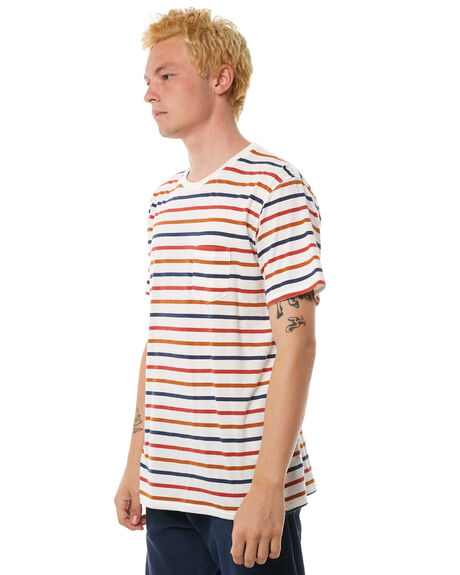OFF WHITE MENS CLOTHING BANKS TEES - WTS0218OWH