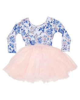 LIGHT BLUE KIDS GIRLS ROCK YOUR KID DRESSES + PLAYSUITS - TGD19154-OFLBLU