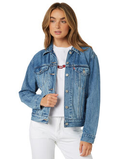 SOFT AS BUTTER WOMENS CLOTHING LEVI'S JACKETS - 29944-0055SOF