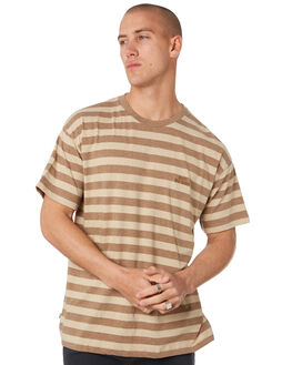 TAN MENS CLOTHING MISFIT TEES - MT096100TAN