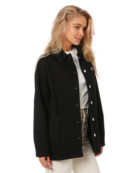 VINTAGE BLACK WOMENS CLOTHING MISFIT JACKETS - MT115706VBLK