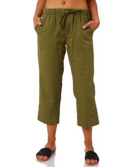 WASHED KHAKI WOMENS CLOTHING SWELL PANTS - S8202193WKHA