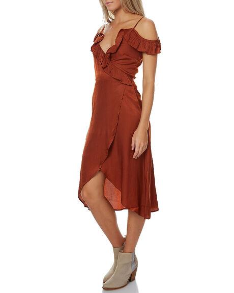 RUST WOMENS CLOTHING MINKPINK DRESSES - MP1609470RUST