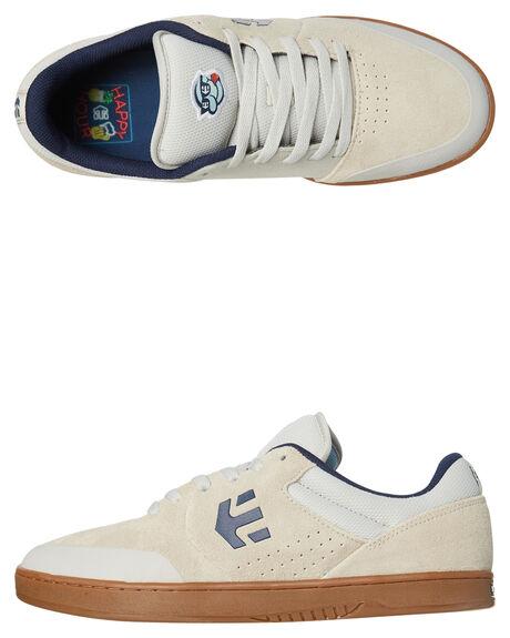WHITE GUM MENS FOOTWEAR ETNIES SKATE SHOES - 4107000536WGUM
