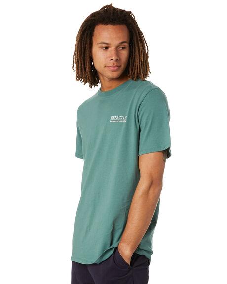 HERB GREEN MENS CLOTHING DEPACTUS TEES - D5222003HBGRN