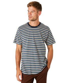 NAVY MENS CLOTHING BILLABONG TEES - 9595001NVY