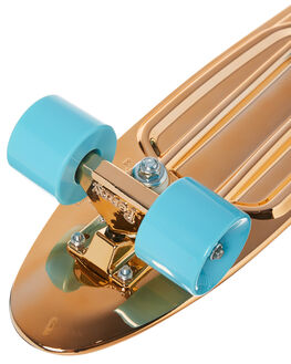 GOLD BOARDSPORTS SKATE PENNY COMPLETES - PNYCOMP22416GOLD