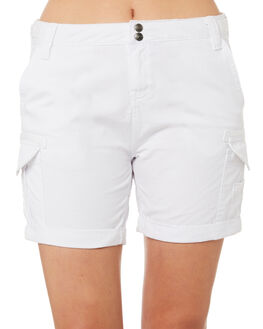 WHITE WOMENS CLOTHING RUSTY SHORTS - WKL0508WHT