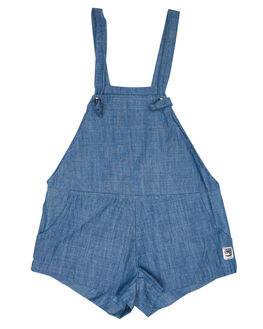 CHAMBRAY KIDS TODDLER GIRLS SWEET CHILD OF MINE DRESSES + PLAYSUITS - JORDYOVER-CHA