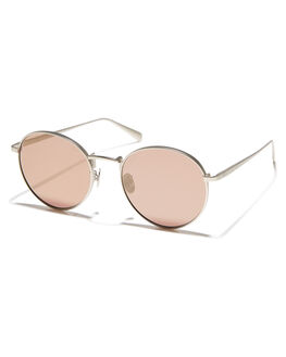 MATTE SILVER WOMENS ACCESSORIES OSCAR AND FRANK SUNGLASSES - 019MSMTSLV
