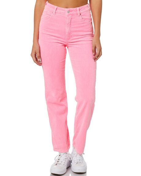 PINK CORDIAL CORD WOMENS CLOTHING ROLLAS JEANS - 14113-6114