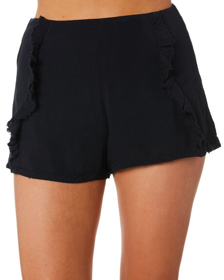BLACK OUTLET WOMENS ALL ABOUT EVE SHORTS - 6423055BLK