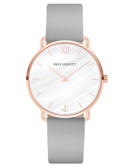 ROSE GOLD GRAPHITE WOMENS ACCESSORIES PAUL HEWITT WATCHES - PH-M-R-P-31SRGPLG