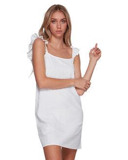 WHITE WOMENS CLOTHING BILLABONG DRESSES - BB-6591538M-WHT