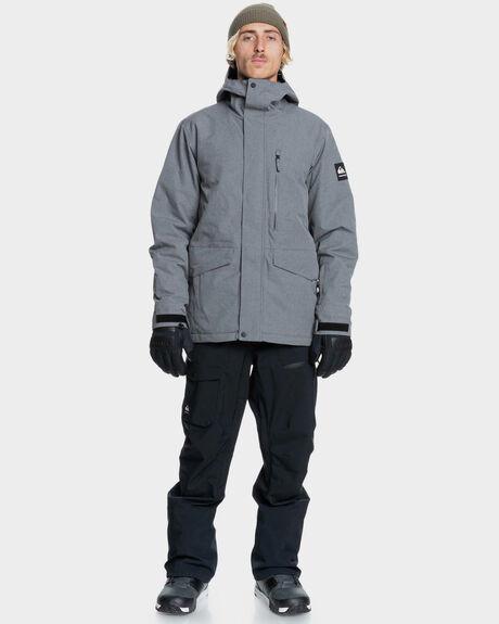 HEATHER GREY BOARDSPORTS SNOW QUIKSILVER MENS - EQYTJ03266-SJE0