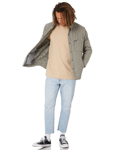 OLIVE FADE MENS CLOTHING WRANGLER JACKETS - W-902052-PT5
