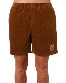 TAN MENS CLOTHING STUSSY SHORTS - ST091602TN