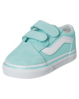 BLUE TINT KIDS GIRLS VANS FOOTWEAR - VNA344KVIBBTNT