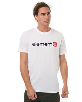 OPTIC WHITE MENS CLOTHING ELEMENT TEES - 174004OWHT