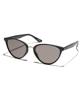 BLACK SMOKE WOMENS ACCESSORIES QUAY EYEWEAR SUNGLASSES - QW-000222BLKSM