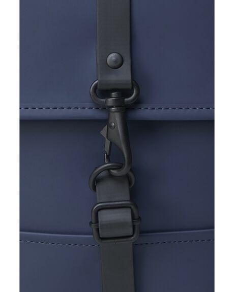 BLUE MENS ACCESSORIES RAINS BAGS + BACKPACKS - 1366-BLU-OS