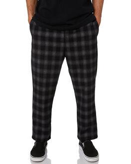 LIGHT CHECK MENS CLOTHING STUSSY PANTS - ST006601LCHK