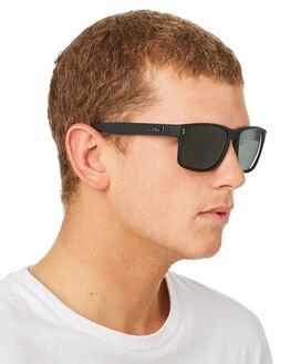 MATTE BLACK MENS ACCESSORIES LIIVE VISION SUNGLASSES - L0659AMBLK