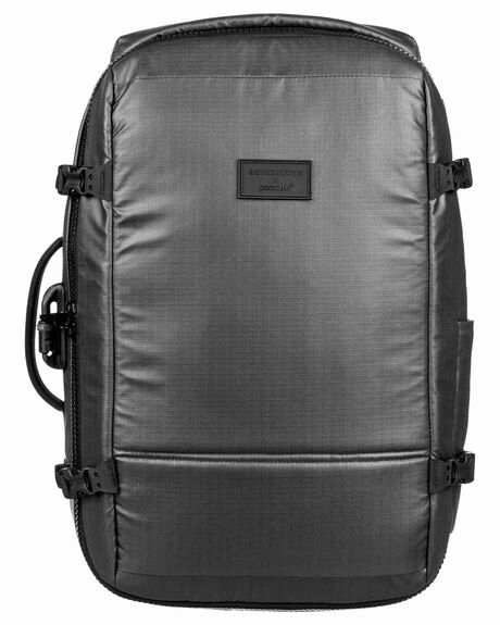 CHARCOAL GRAY MENS ACCESSORIES QUIKSILVER BAGS + BACKPACKS - EQYBP03509-KNY0