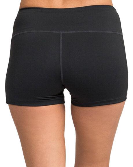 BLACK WOMENS CLOTHING RVCA ACTIVEWEAR - RV-R481315-BLK