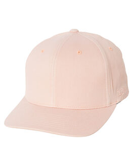 WASHED PEACH WOMENS ACCESSORIES FLEX FIT HEADWEAR - 171051-WPH-OSFAWPCH