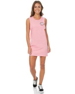 CALYPSO WOMENS CLOTHING RUSTY DRESSES - DRL0886CAS