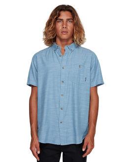 POWDER BLUE MENS CLOTHING BILLABONG SHIRTS - BB-9595201-P22