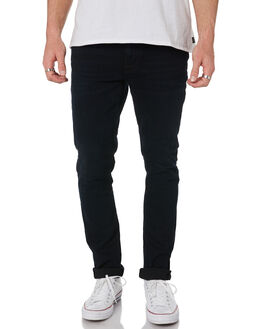 BLACK OUT MENS CLOTHING NUDIE JEANS CO JEANS - 113210BLKOT