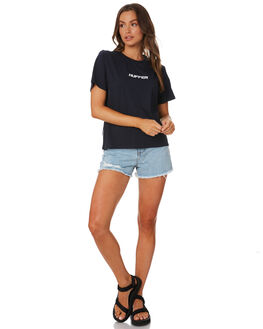 NAVY WOMENS CLOTHING HUFFER TEES - WTE94S41397NVY