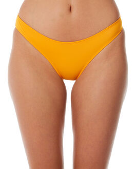 ORANGE OUTLET WOMENS SOLID AND STRIPED BIKINI BOTTOMS - WS-1059-1267ORG