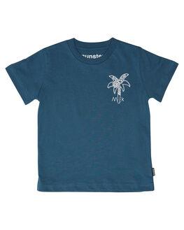 BLUE KIDS TODDLER BOYS MUNSTER KIDS TEES - MK181TE17BLU