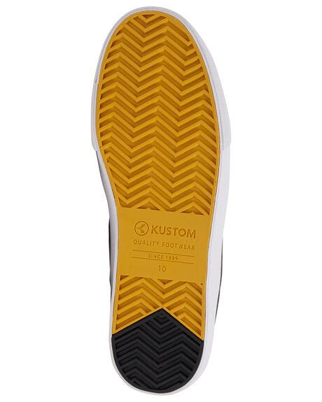 CHARCOAL MENS FOOTWEAR KUSTOM SNEAKERS - KS-4994104-CHR