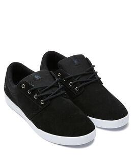 BLACK WHITE MENS FOOTWEAR ETNIES SNEAKERS - 4101000517976