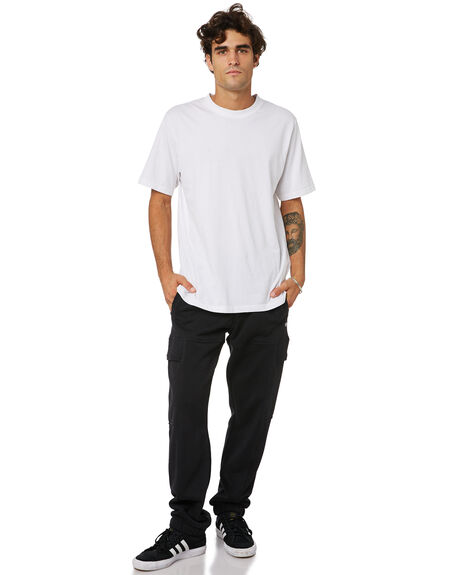 BLACK MENS CLOTHING ADIDAS PANTS - GL9942BLK