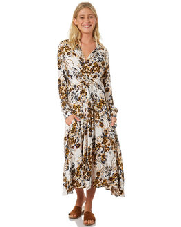 IVORY WOMENS CLOTHING FREE PEOPLE DRESSES - OB8722681103