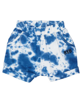 BLUE TIE DYE KIDS BABY ROCK YOUR BABY CLOTHING - BBP1819-DBLUTD