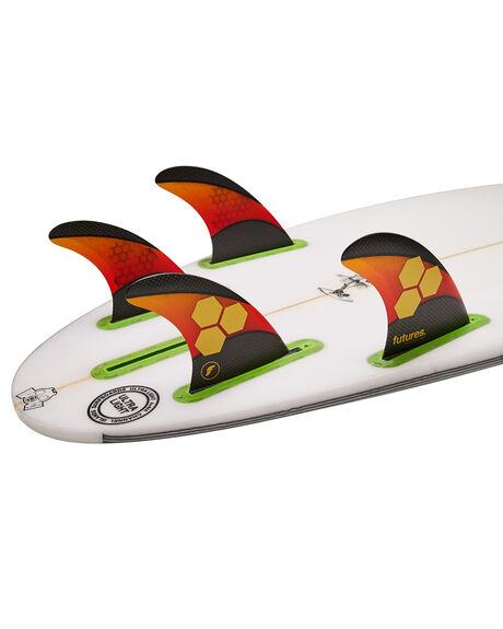ORANGE RED BOARDSPORTS SURF FUTURE FINS FINS - 5560-429-50ORGRD