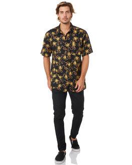 BLACK MENS CLOTHING ZANEROBE SHIRTS - 303-FLDBLK