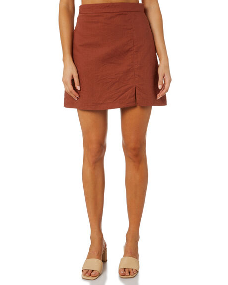 PECAN WOMENS CLOTHING NUDE LUCY SKIRTS - NU23959PEC