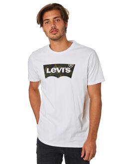 FILL WHITE MENS CLOTHING LEVI'S TEES - 22489-0163