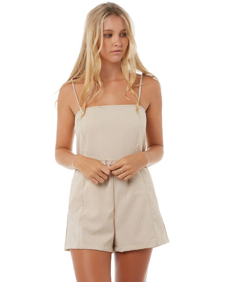 NATURAL OUTLET WOMENS SWELL PLAYSUITS + OVERALLS - S8182446NATRL