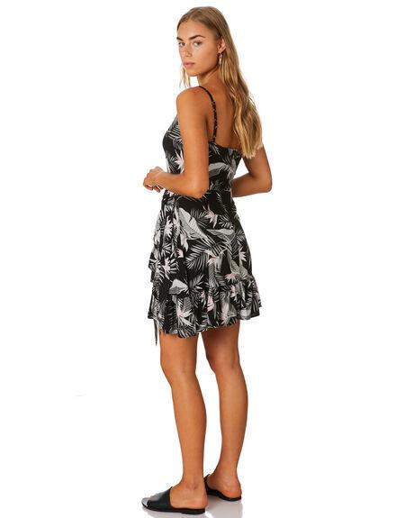 BLACK WOMENS CLOTHING VOLCOM DRESSES - B1331980BLK