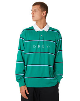 GROWTH GREEN MULTI MENS CLOTHING OBEY SHIRTS - 131040017GGM
