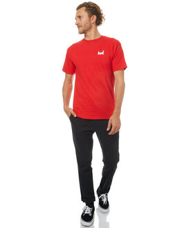 RED MENS CLOTHING HUF TEES - TS63028RED